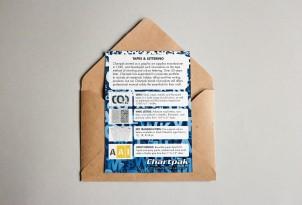 Chartpak Tapes Postcard Mockup