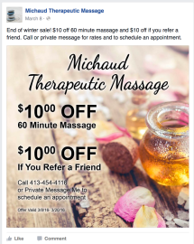 MichaudTherapeutic Massage